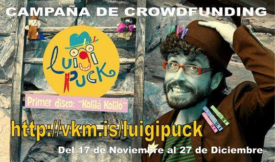 Crowdfunding - http://vkm.is/luigipuck